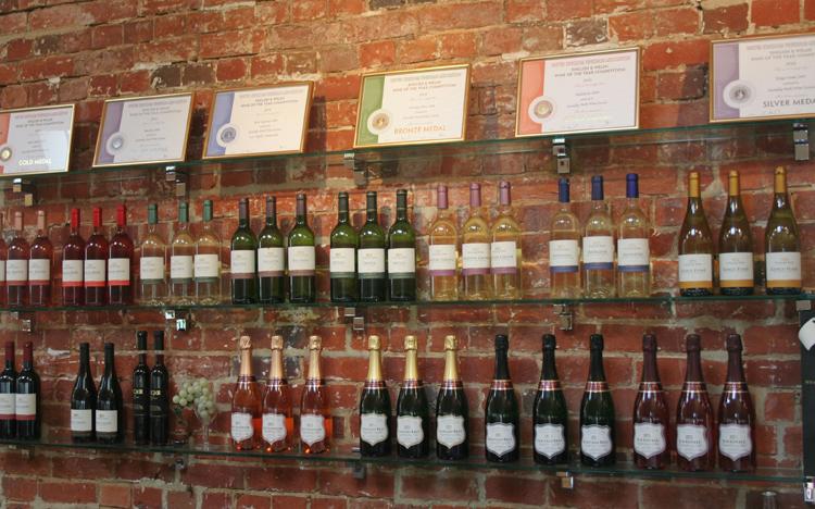 English Wine at Stanlake Park