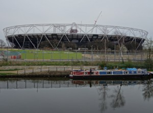 London Olympic Stadium from Formans