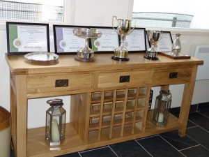The Trophy Table at Winbirri