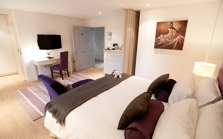 Accommodation at the Marquis at Alkham