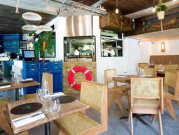 Nutbourne Restaurant, Battersea on Wine Cellar Door