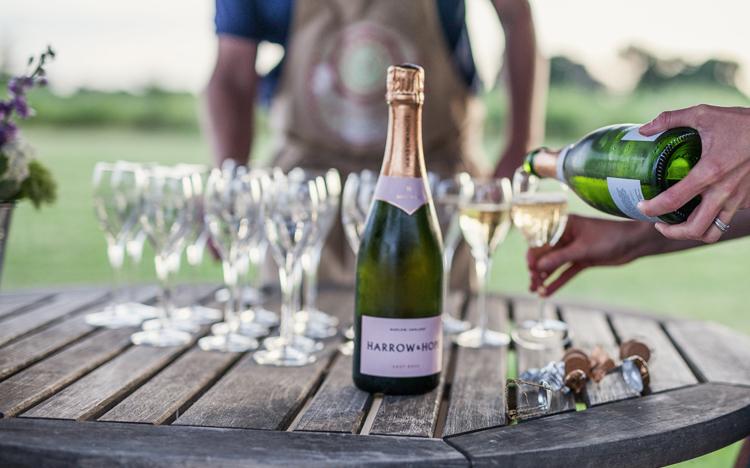 English Wines for Harry & Meghan - Harrow and Hope