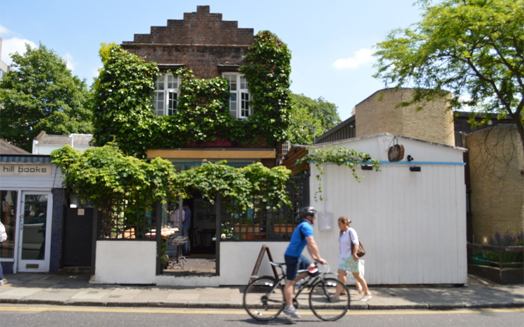 The Shed Notting Hill with English wine from Nutbourne