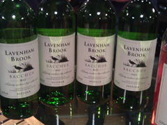 Lavenham Bottles at West Street Vineyard