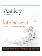 Astley Late Harvest Label