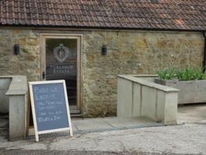 Tasting Room at Dorset's Furleigh Estate