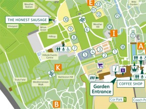 RHS Garden Wisley - Autumn Map and Guide