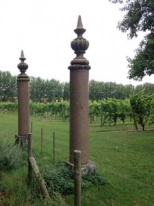 Decorative Columns at Chilford Hall