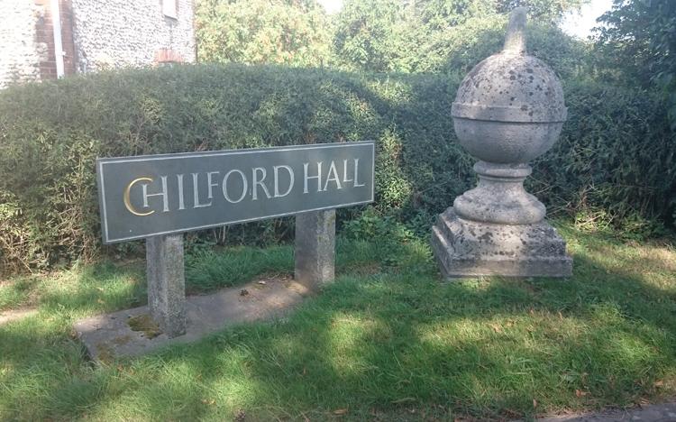 Chilford Hall Vineyard