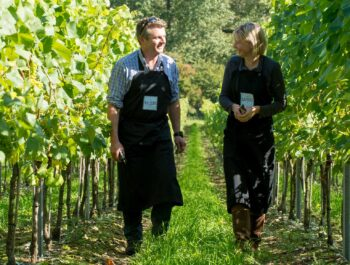 Augusta and Robert Raimes of Raimes English Sparkling