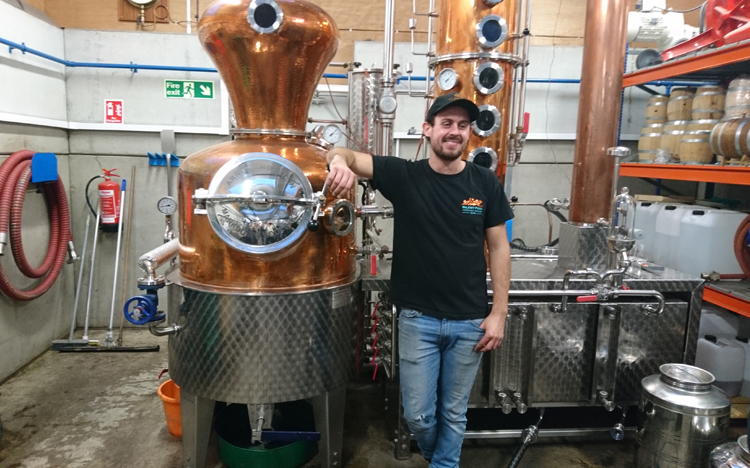 Tom the Distiller at Silent Pool