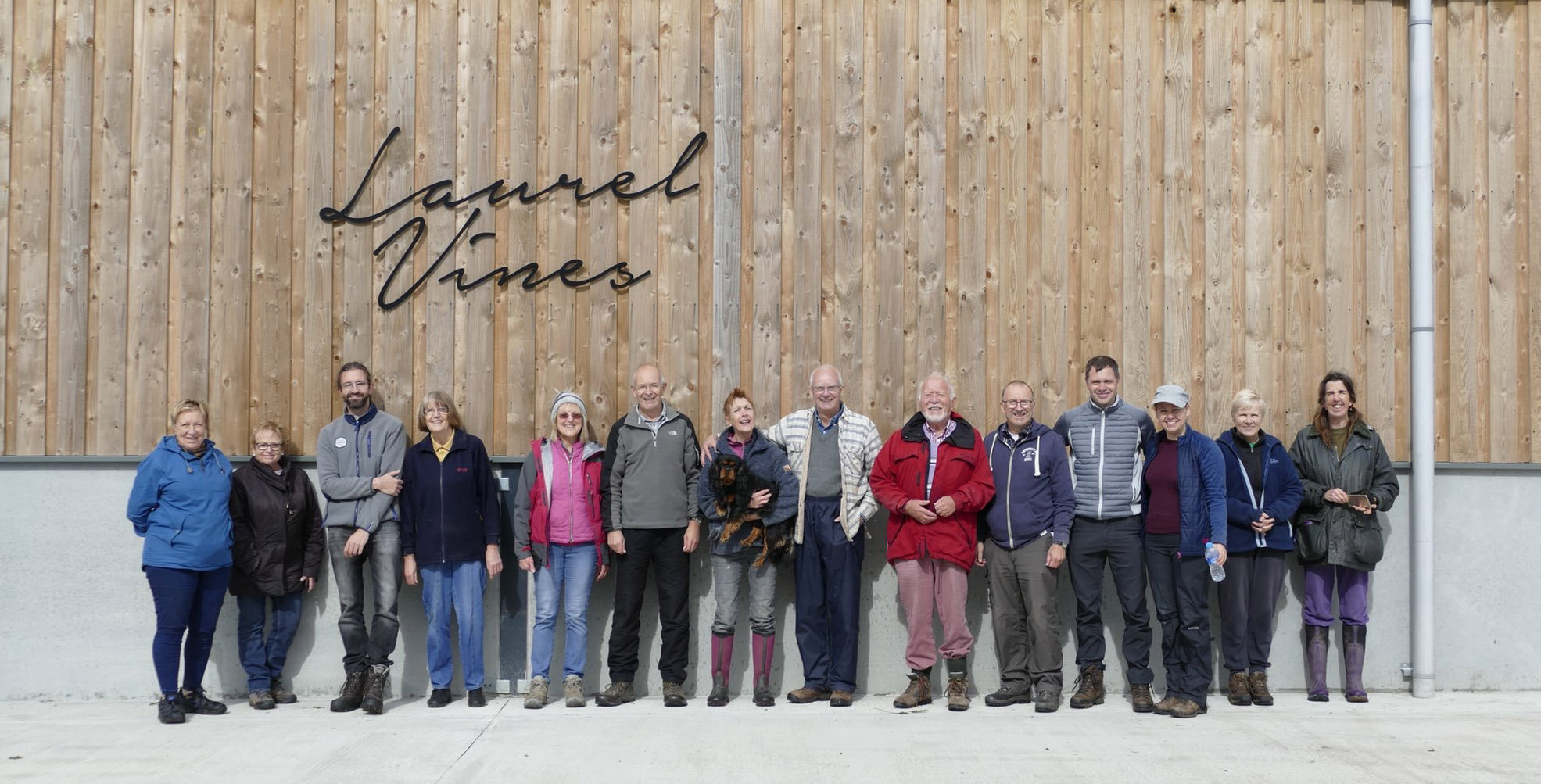 Visit Laurel Vines English Vineyard Wine Cellar Door