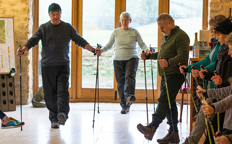 Introduction to Nordic Walking at Furleigh Estate